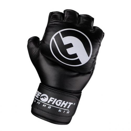 Перчатки для ММА Free-Fight (FF-FG-5-bl) Black 6 oz р. M